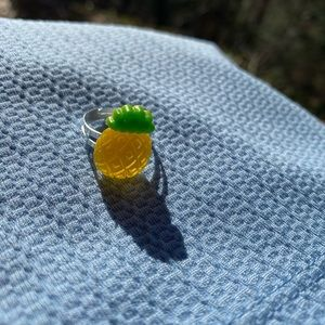 Handmade pineapple ring